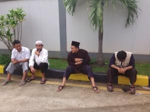 Dari Kiri, Abu Hanifah, Abdurrahman, Ahmad Fauzi, Eko Nurwanto