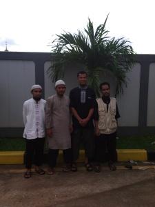 Dari kiri ....Abdurrahman, Rynoedin, Abu Sofyan, Eko Nurwanto